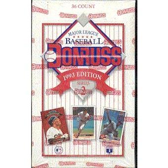 1993 Donruss Series 2 Baseball Hobby Box