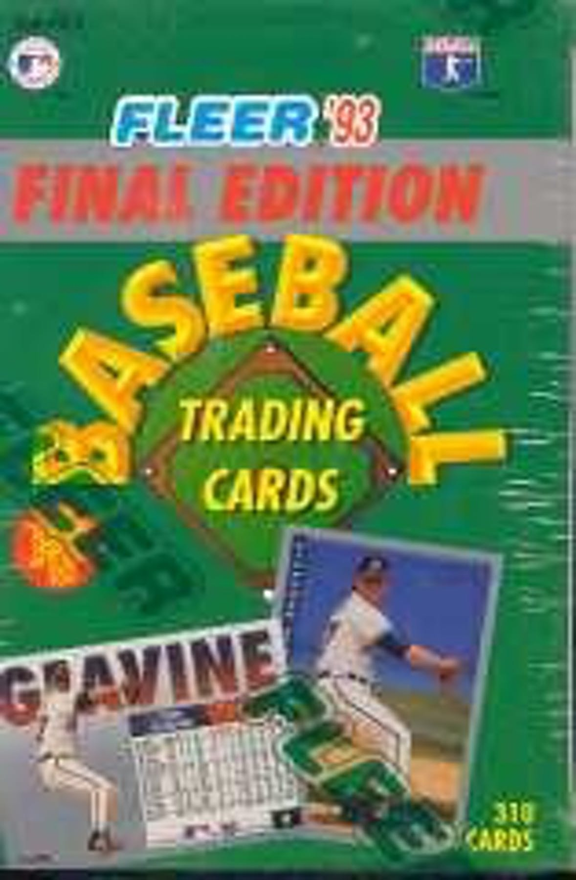 1993 Fleer Final Edition Baseball Factory Set Da Card World