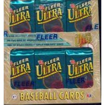 1993 Fleer Ultra Series 1 Baseball Jumbo Box