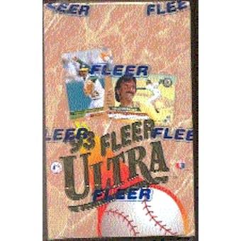 1993 Fleer Ultra Series 1 Baseball Hobby Box