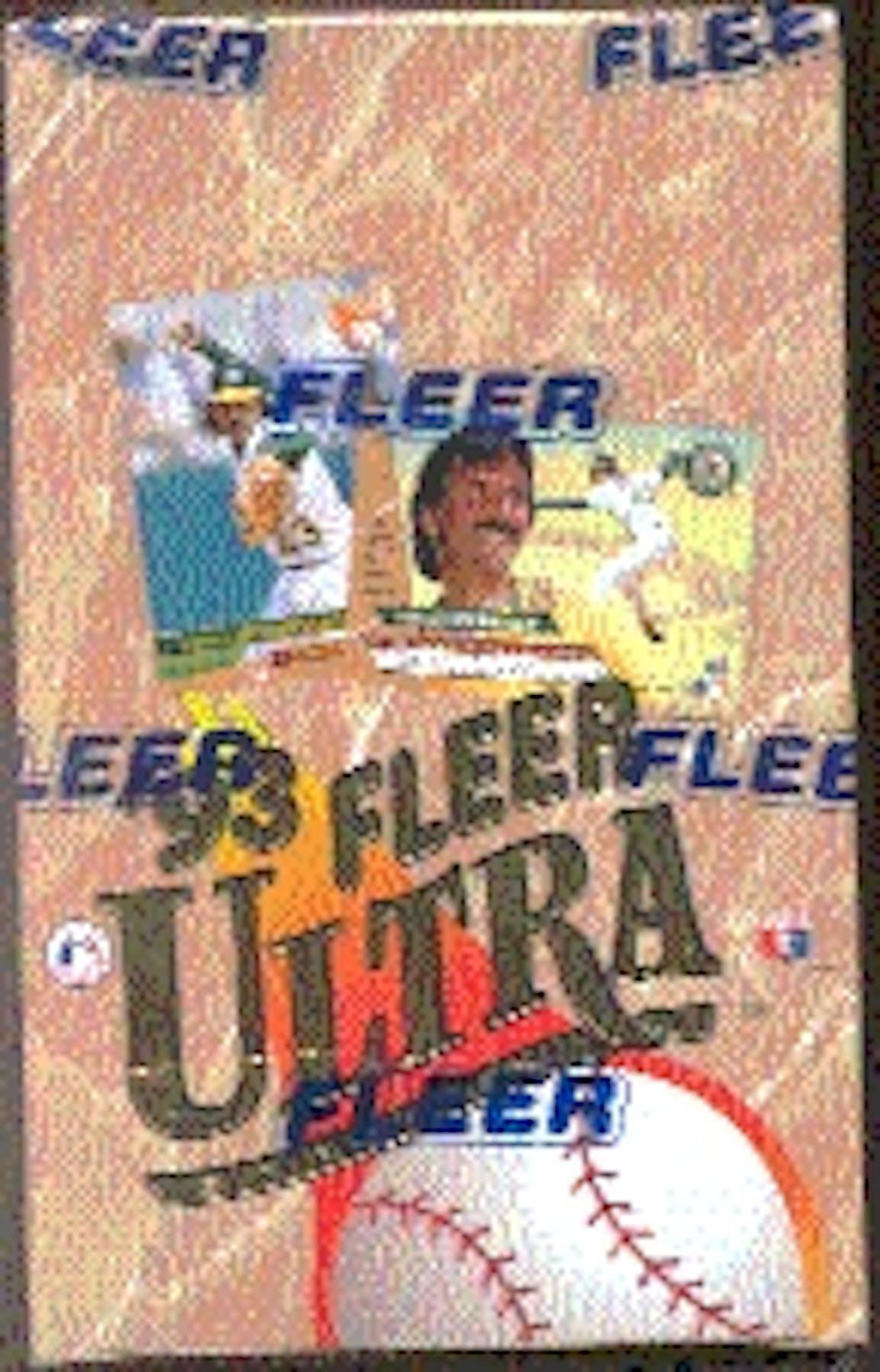 1993 Fleer Ultra Series 1 Baseball Hobby Box Da Card World