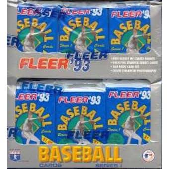 1993 Fleer Series 1 Baseball Jumbo Box