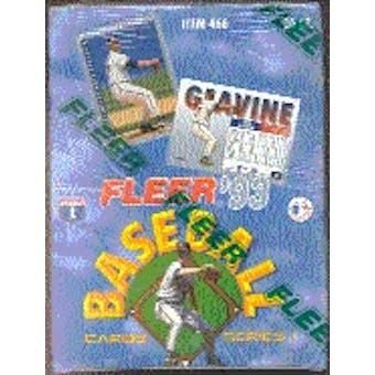 1993 Fleer Series 1 Baseball Hobby Box