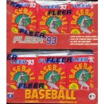 1993 Fleer Series 2 Baseball Jumbo Box