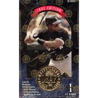 1993 Leaf Series 1 Baseball Hobby Box