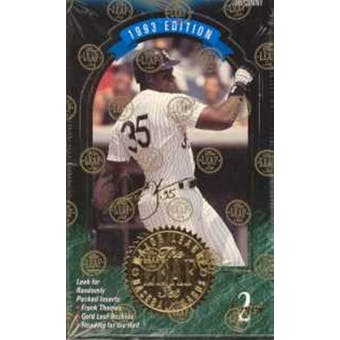 1993 Leaf Series 2 Baseball Hobby Box