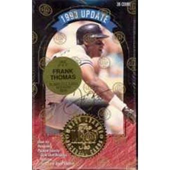 1993 Leaf Update Baseball Hobby Box