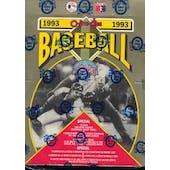 1993 O-Pee-Chee Baseball Hobby Box (Reed Buy)