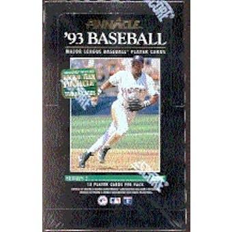 1993 Pinnacle Series 2 Baseball Hobby Box