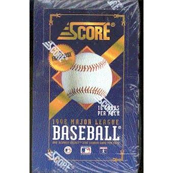 1993 Score Baseball Hobby Box