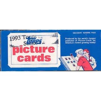 1993 Topps Series 2 Baseball Vending 24-Box Case