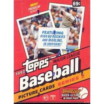 1993 Topps Series 2 Baseball Hobby Box