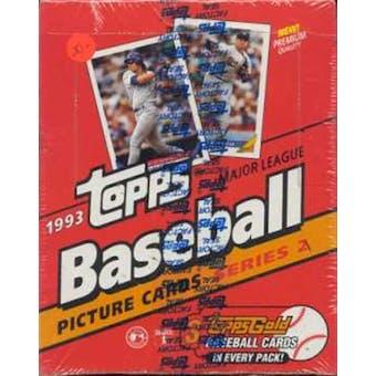 1993 Topps Series 2 Baseball Rack Box