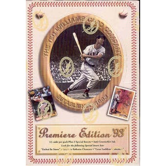 1993 Ted Williams Baseball Hobby Box