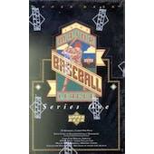 1993 Upper Deck Series 1 Baseball Retail Box