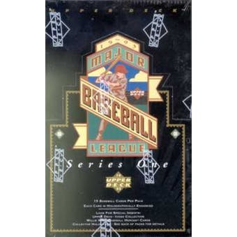 1993 Upper Deck Series 1 Baseball Retail Box (Reed Buy)