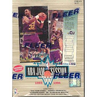 1993/94 Fleer NBA Jam Session Basketball Hobby Box