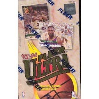 1993/94 Fleer Ultra Series 1 Basketball Hobby Box