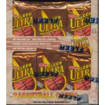 1993/94 Fleer Ultra Series 1 Basketball Jumbo Box
