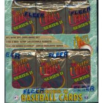 1993 Fleer Ultra Series 2 Baseball Jumbo Box