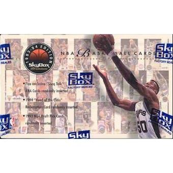 1993/94 Skybox Premium Series 1 Basketball Hobby Box