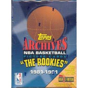 1993 Topps Archives Basketball Hobby Box
