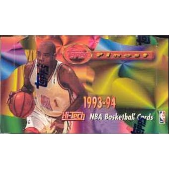 1993/94 Topps Finest Basketball Jumbo Box