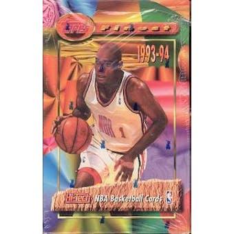 1993/94 Topps Finest Basketball Hobby Box