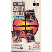 1993/94 Topps Stadium Club Series 1 Basketball Hobby Box (Reed Buy)