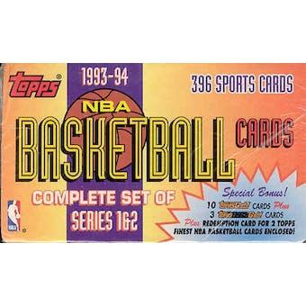1993/94 Topps Basketball Factory Set
