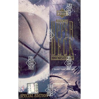 1993/94 Upper Deck Special Edition Basketball Hobby Box