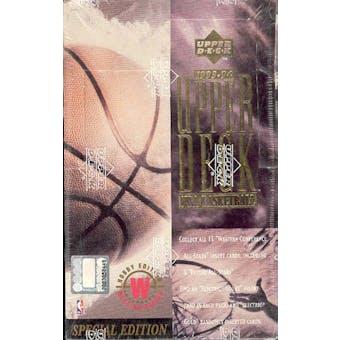 1993/94 Upper Deck Special Edition Western Basketball Hobby Box