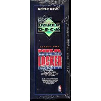 1993/94 Upper Deck Locker Series 1 Basketball Hobby Box