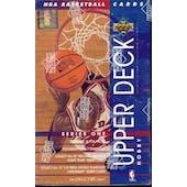 1993/94 Upper Deck Series 1 Basketball Hobby Box (Reed Buy)