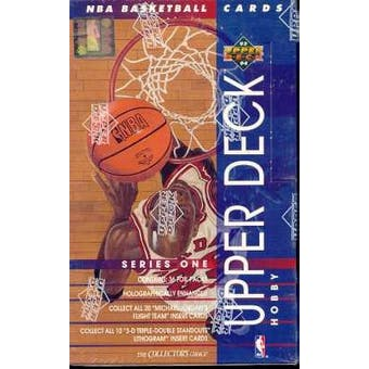1993/94 Upper Deck Series 1 Basketball Hobby Box