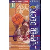 1993/94 Upper Deck Series 1 Basketball Retail Box (Reed Buy)