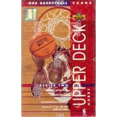 1993/94 Upper Deck Series 2 Basketball Hobby Box (Reed Buy)