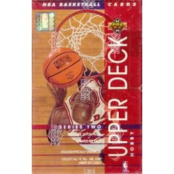 1993/94 Upper Deck Series 2 Basketball Hobby Box