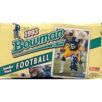 1993 Bowman Football Jumbo Box