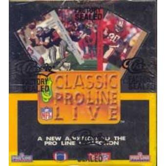 1993 Pro Line Live Football Hobby Box
