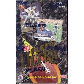 1993 Fleer Ultra Football Jumbo Box