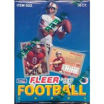 1993 Fleer Football Hobby Box