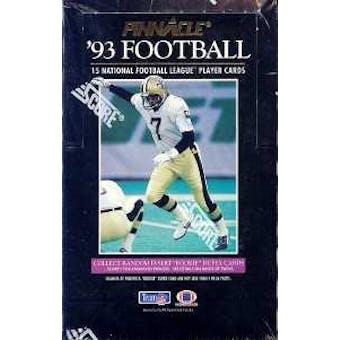 1993 Pinnacle Football Hobby Box