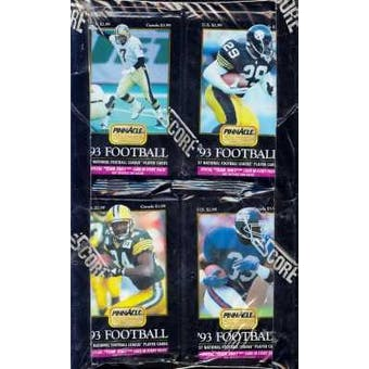 1993 Pinnacle Football Jumbo Box
