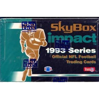 1993 Skybox Impact Football Hobby Box