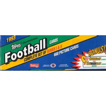 1993 Topps Football Factory Set (Reed Buy)
