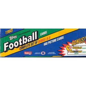 1993 Topps Football Factory Set (Box)