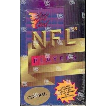 1993 Wild Card Football Hobby Box