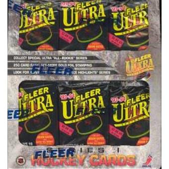 1993/94 Fleer Ultra Series 1 Hockey Jumbo Box