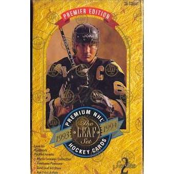 1993/94 Leaf Series 2 Hockey Hobby Box